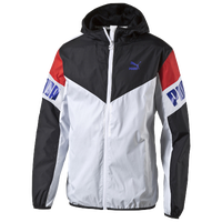 PUMA Football Windbreaker - Men's - Casual - Clothing - Black