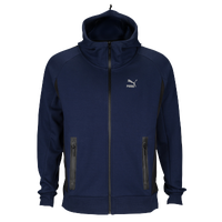PUMA EVO Full Zip Savannah - Men's - Navy / Black