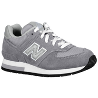 New Balance 574 Suede - Boys' Preschool - Grey / Silver