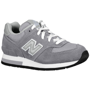New Balance 574 Suede - Boys' Preschool - Grey/Silver