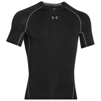 Under Armour Heatgear Armour Compression S/S Shirt - Men's - Black / Grey