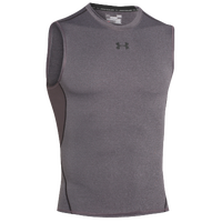 Under Armour Heatgear Armour Comp S/L T-Shirt - Men's - Grey / Grey