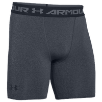 Under Armour Heatgear Armour Compression Shorts - Men's - Grey / Black