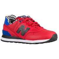 New Balance 574 - Women's - Red / Black