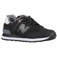 New Balance 574 - Women's - Black / Grey
