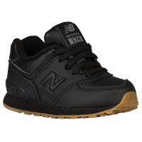 New Balance 574 - Boys' Toddler - Black / Tan