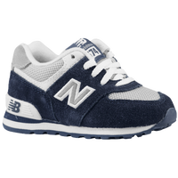 New Balance 574 - Boys' Toddler - Black / Pink