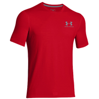 Under Armour Sportstyle Logo T-Shirt - Men's - Red / Red