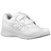 New Balance 577 Hook & Loop - Women's - All White / White