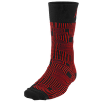 Jordan Retro 11 Low Crew Socks - Men's - Black / Red