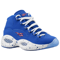 Reebok Question Mid - Boys' Grade School - Blue / White