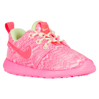 Nike Roshe One - Girls' Toddler - White / Light Green