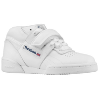 Reebok Workout Strap Mid - Boys' Preschool - White / Navy