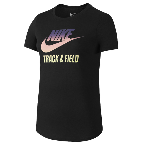 Nike ru w t amp f gradient t shirt women s casual clothing white