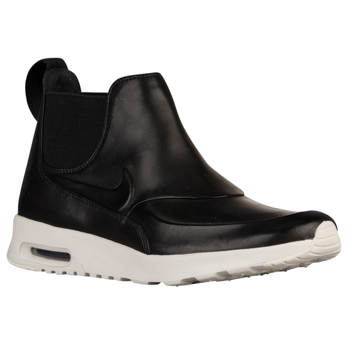 nike air max thea mid women 39 s casual shoes black. Black Bedroom Furniture Sets. Home Design Ideas