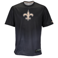 Nike NFL Sideline Dri-Fit Player Top - Men's - New Orleans Saints - Black / Gold