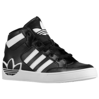 adidas Originals Hard Court Hi - Boys' Preschool - Black / White