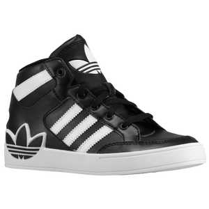 adidas Originals Hard Court Hi - Boys' Preschool - Black/Running White/Running White