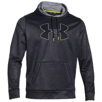 Under Armour Armour Fleece Storm Big Logo Hoodie - Men's - Grey / Black