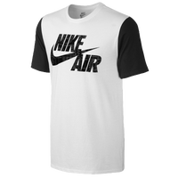 Nike Air Fashion T-Shirt - Men's - White / Black