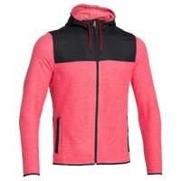 Under Armour CG Infrared Fleece Full Zip Hoodie - Men's - Red / Black
