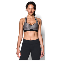 Under Armour Armour High-Impact Bra - Women's - Grey / Black