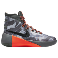 Nike Hyperdunk 2015 - Boys' Grade School - Grey / Black