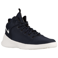 Nike Hyperfr3sh Mid - Men's - Navy / White