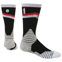 Stance NBA On Court Crew Socks - Men's - Portland Trail Blazers - Black / Grey