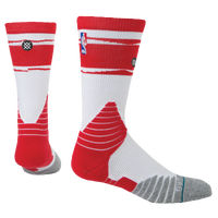 Stance NBA On Court Crew Socks - Men's - Houston Rockets - White / Red