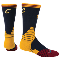 Stance NBA On Court Crew Socks - Men's - Cleveland Cavaliers - Navy / Gold
