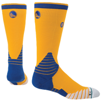 Stance NBA On Court Crew Socks - Men's - Golden State Warriors - Gold / Blue