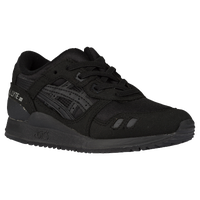 ASICS Tiger GEL-Lyte III - Boys' Preschool - All Black / Black