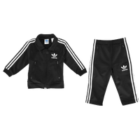adidas Originals Firebird Track Suit - Boys' Infant - Black / White