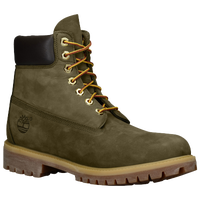 "Timberland 6"" Premium Waterproof Boots - Men's - Olive Green / Olive Green"