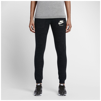 Nike Gym Vintage Pant - Women's - Black / Off-White