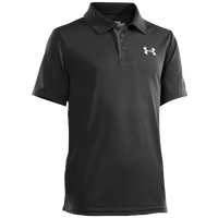 Under Armour Matchplay Polo - Boys' Grade School - Black / Grey