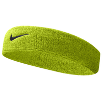 Nike Swoosh Headband - Men's - Light Green / Black