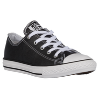 Converse All Star Ox Leather - Boys' Preschool - Black / White