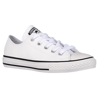 Converse All Star Ox Leather - Boys' Preschool - White / Black