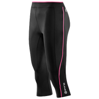 SKINS A200 Compression Capri - Women's - Black / Pink