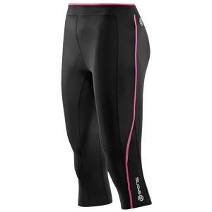 SKINS A200 Compression Capris - Women's - Black/Pink