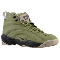 Reebok Shaqnosis - Men's - Olive Green / Black
