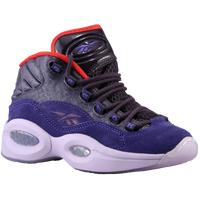 Reebok Question Mid - Boys' Grade School - Purple / Red