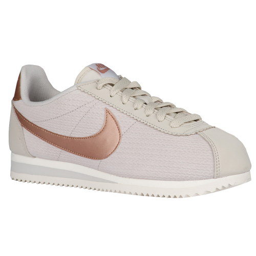 nike classic cortez women 39 s casual shoes light bone sail metallic red bronze. Black Bedroom Furniture Sets. Home Design Ideas
