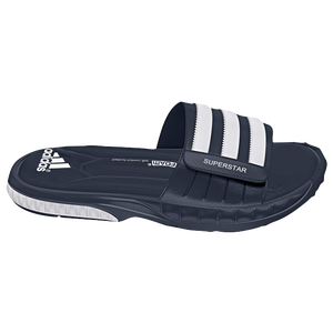 adidas Superstar 3G Slide - Men's - Collegiate Navy/White