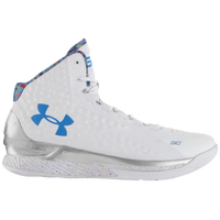 Under Armour Charged Foam Curry 1 - Men's -  Stephen Curry - White / Silver