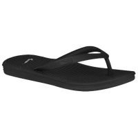 Nike Solarsoft Thong 2 - Boys' Preschool - Black / White