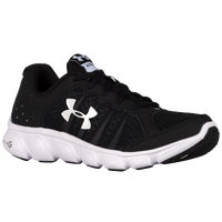 Under Armour Micro G Assert 6 - Boys' Grade School - Black / White