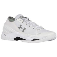 Under Armour Curry Two Low - Men's -  Stephen Curry - White / Silver
